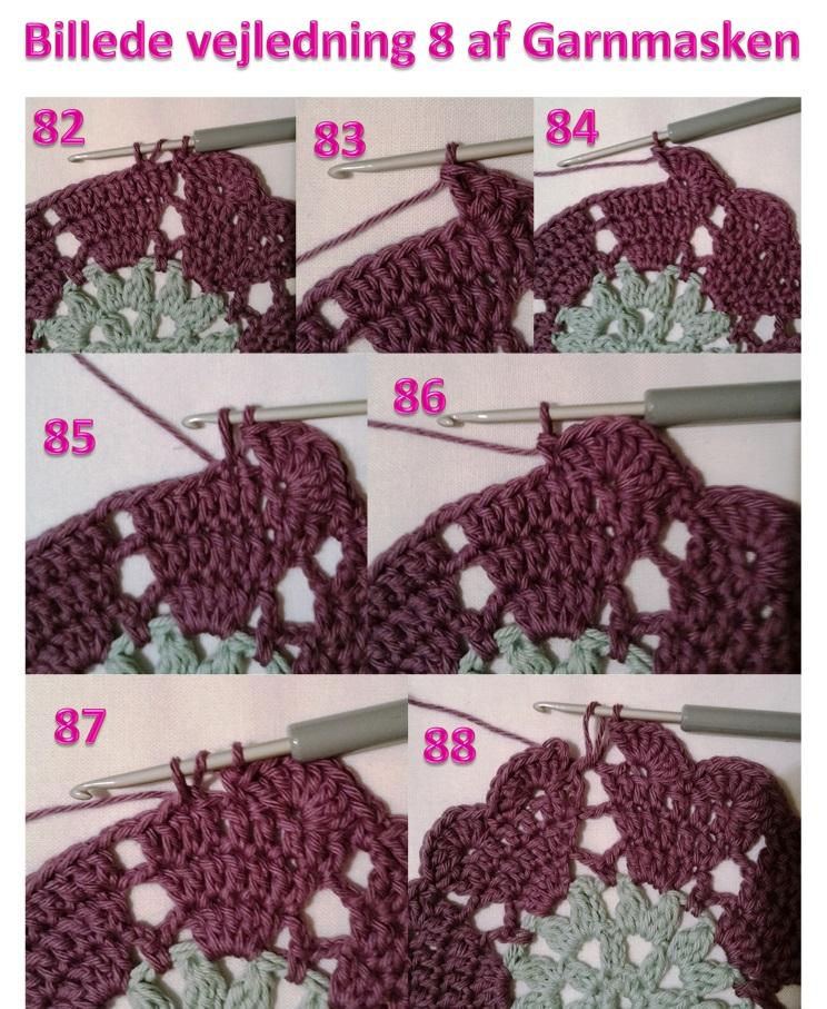 Billede vejledning 8 af Garnmasken