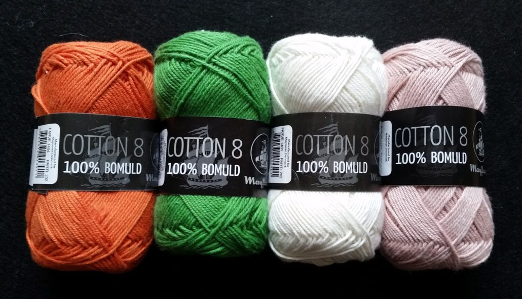 Mayflower cotton garn billede af 4 nøgler Mayflower Cotton garn
