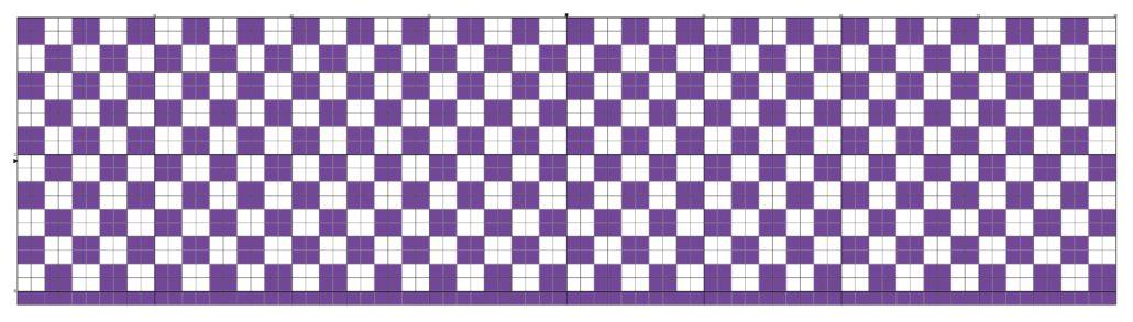 billed af tapestry hækle mønster 7