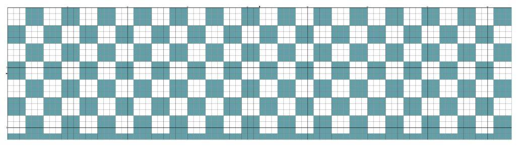 billed af tapestry hækle mønster 8