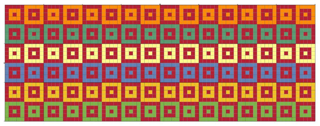 billed af tapestry hækle mønster 11