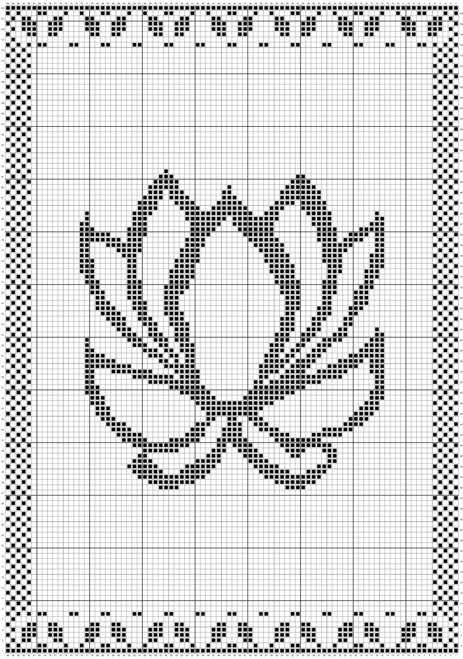 Billed af lotus klude strikkediagram