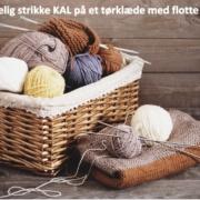 En hyggelig strikke KAL på et tørklæde