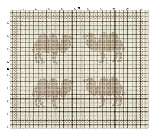 Kamel strikkemønster til del 2