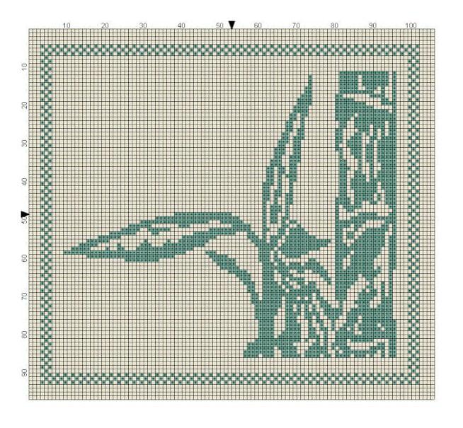 Bambusser i del 3 til strikke KAL