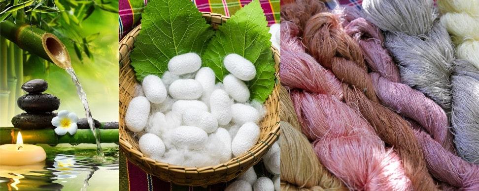 Bambus og silke i del 3 til strikke KAL